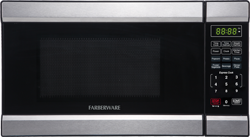FMOABTBKQ Front View Farberware Microwave Ovens - Abt microwaves